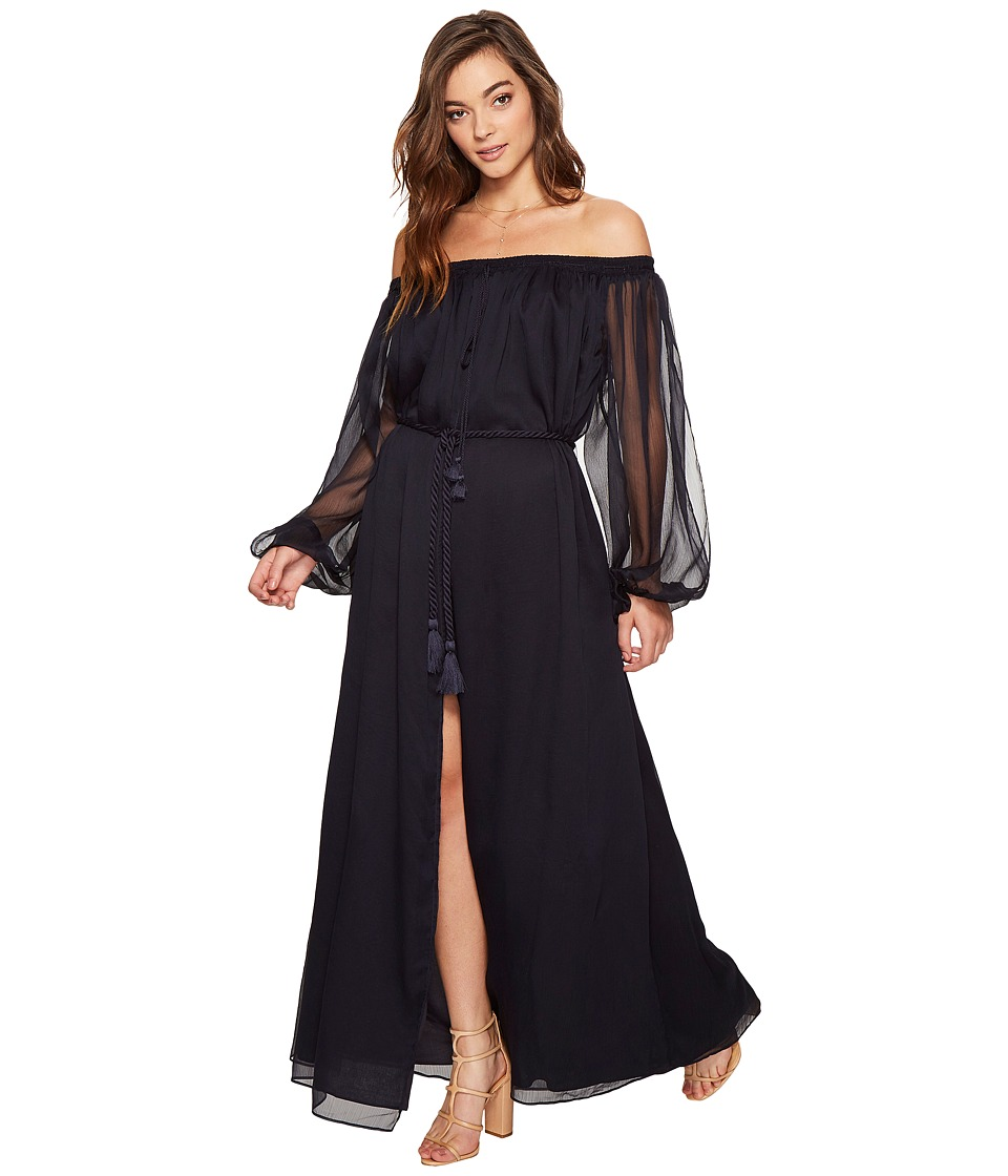 The Jetset Diaries - Babette Maxi Dress (Navy) Women's Dress