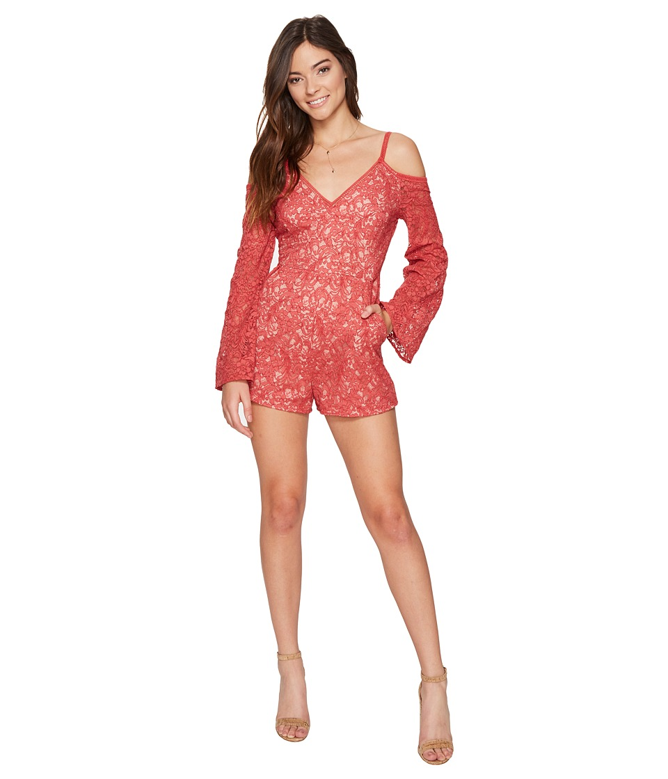 The Jetset Diaries - Rava Lace Romper