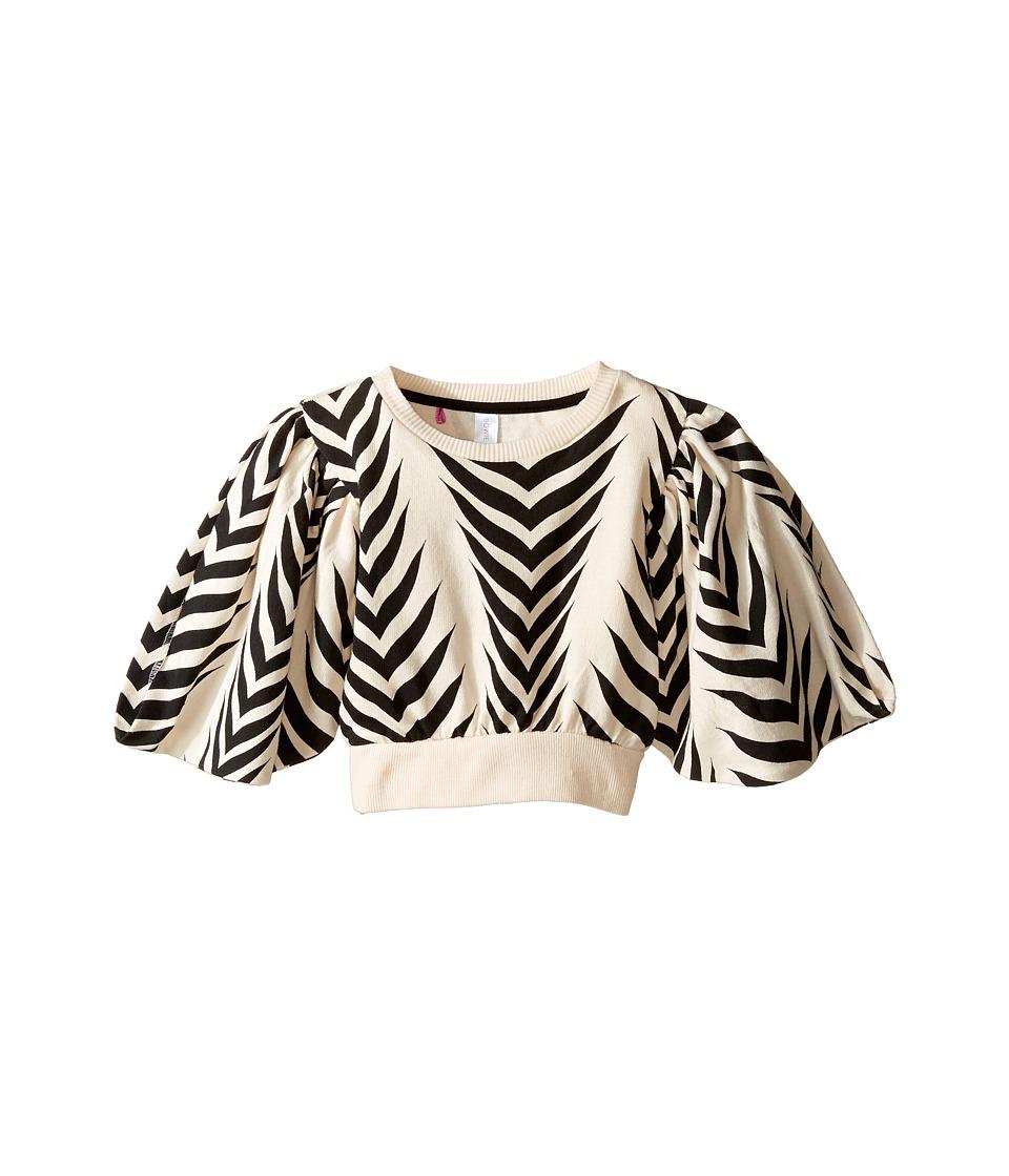Bowie X James Little Hawk Kimono Top Cover-Up (Toddler/Little Kids/Big Kids) (Zebra) Girl