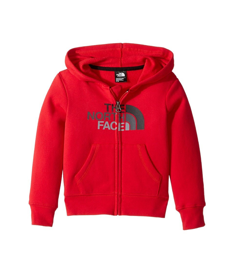The North Face Kids Logowear Full Zip Hoodie (Toddler) (TNF Red) Boy