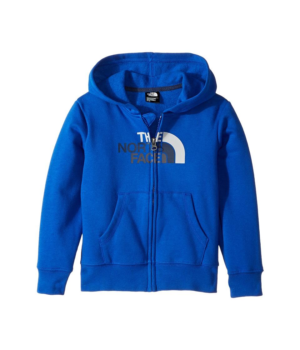 North Face Logowear Full Zip Hoodie (Toddler) (Bright Cob...