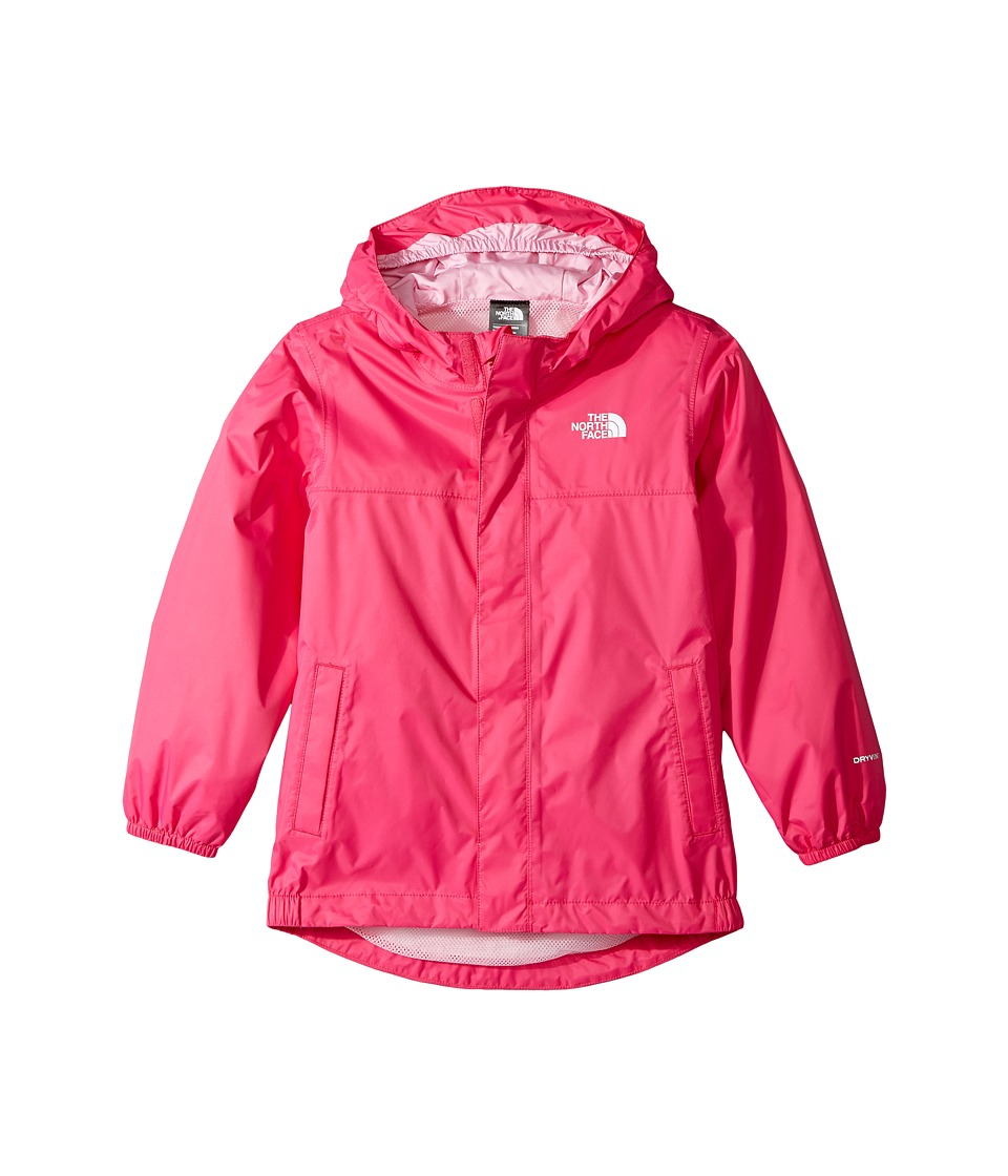 The North Face Kids Tailout Rain Jacket (Toddler) (Petticoat Pink/Lilac Sachet Pink) Girl