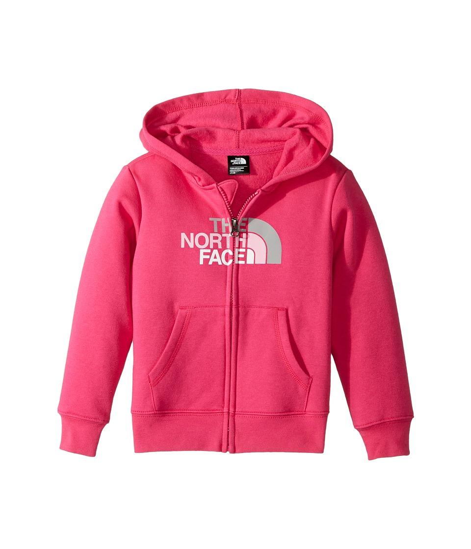 The North Face Kids Logowear Full Zip Hoodie (Toddler) (Petticoat Pink) Girl