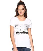 Converse - Metallic Photo Femme Short Sleeve Tee
