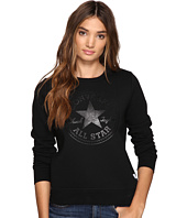 Converse - Chuck Patch Metallic Dot Crew Fleece Top