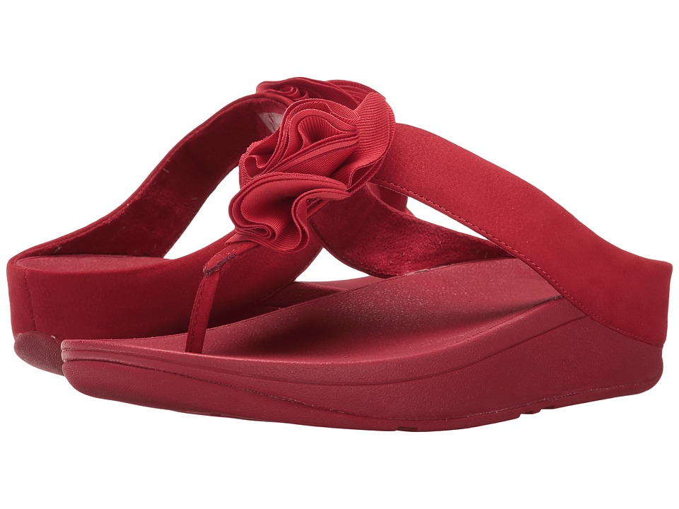 FitFlop Florrie Toe-Post (Classic Red) Women