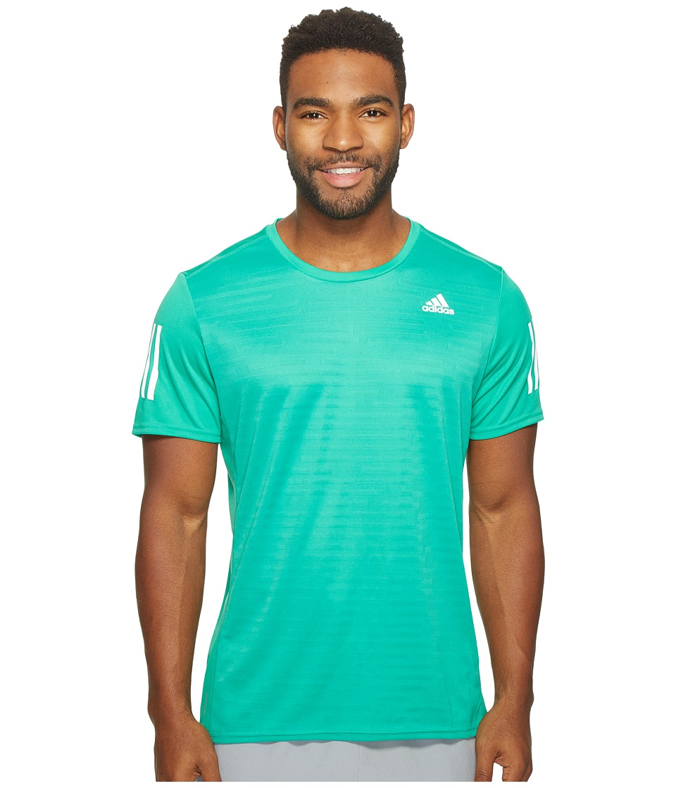 adidas Response Short Sleeve Tee (Core Green) Men