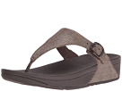 FitFlop - The Skinny Lizard Print (Chocolate Brown)