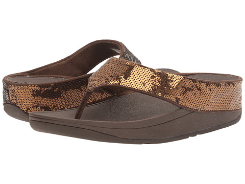 FitFlop Ringer Sequin Toe Post