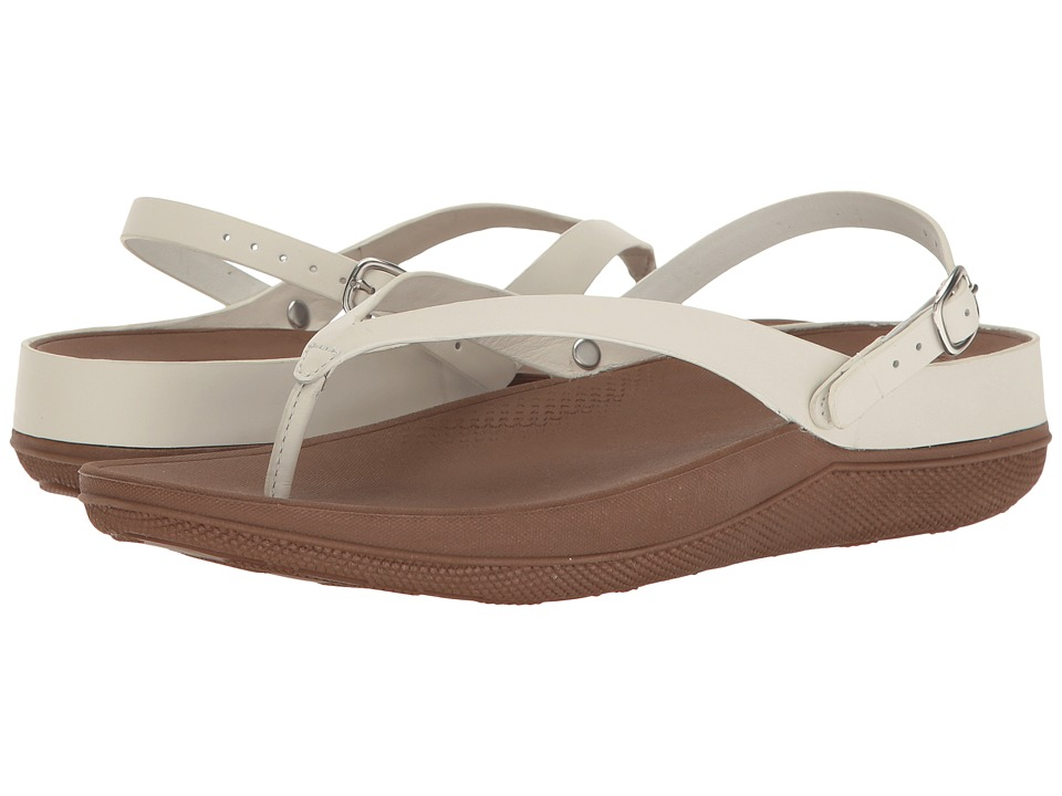 FitFlop Flip Leather Sandals (Urban White) Women