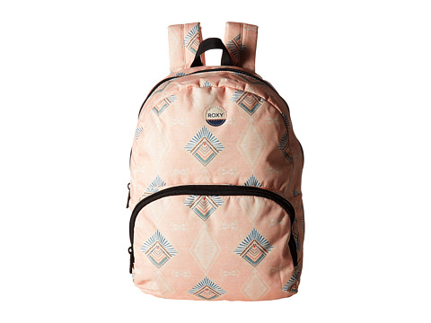 Roxy Always Core Backpack - Peach Nectar Sunset Diamond