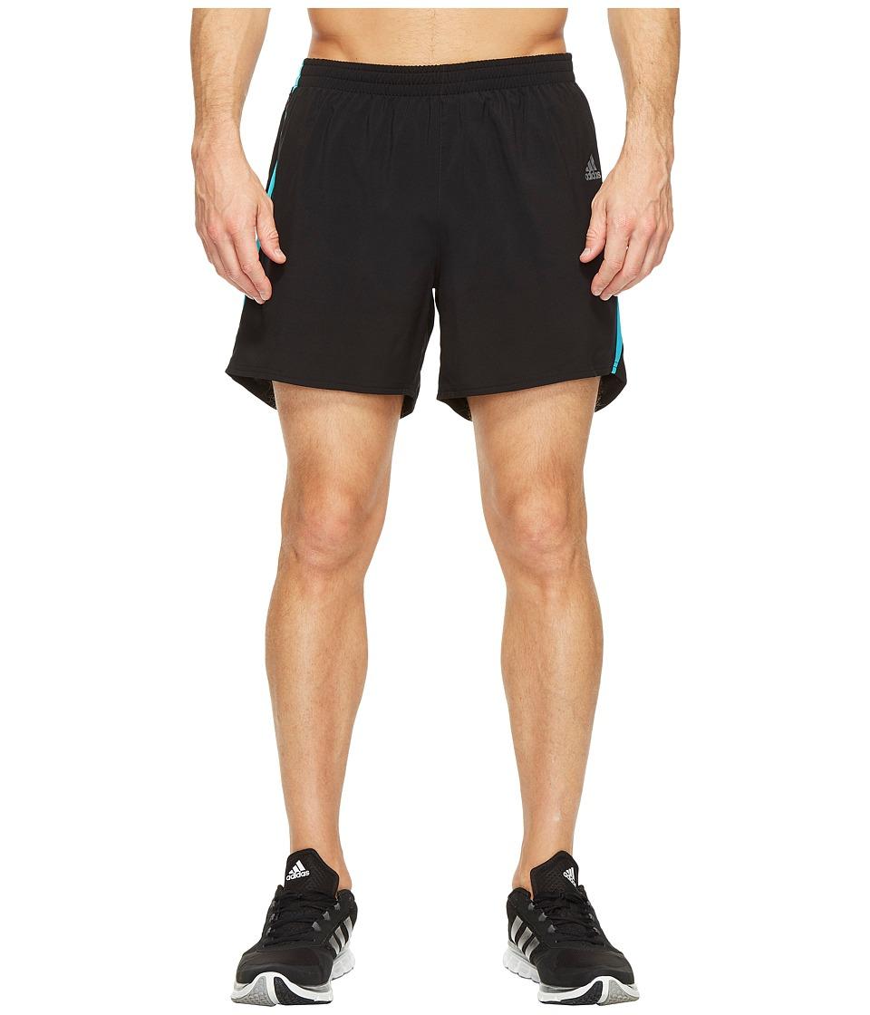adidas Response 5 Shorts (Black/Energy Blue) Men