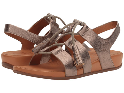 FitFlop Gladdie Lace-Up - Bronze