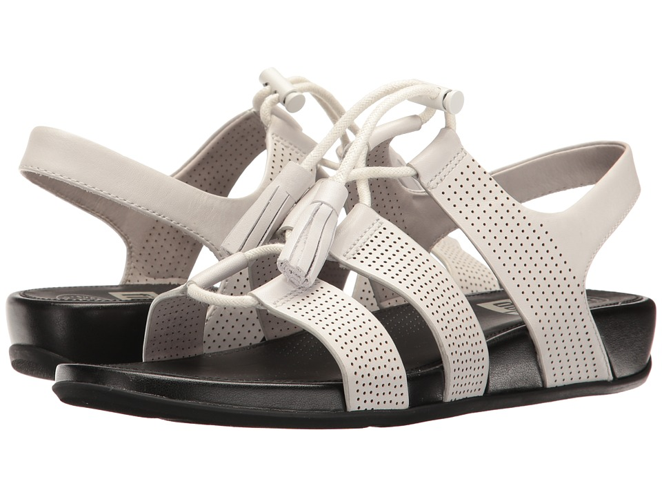FitFlop Gladdie Lace-Up (Urban White) Women