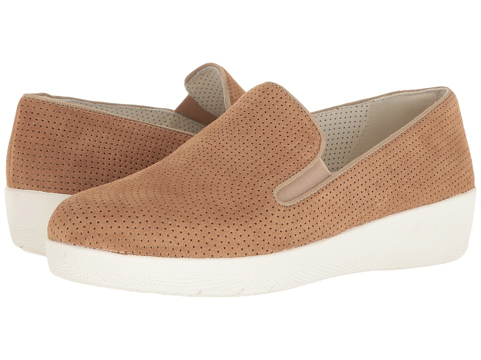 FitFlop Superskate Perf (Soft Brown) Women