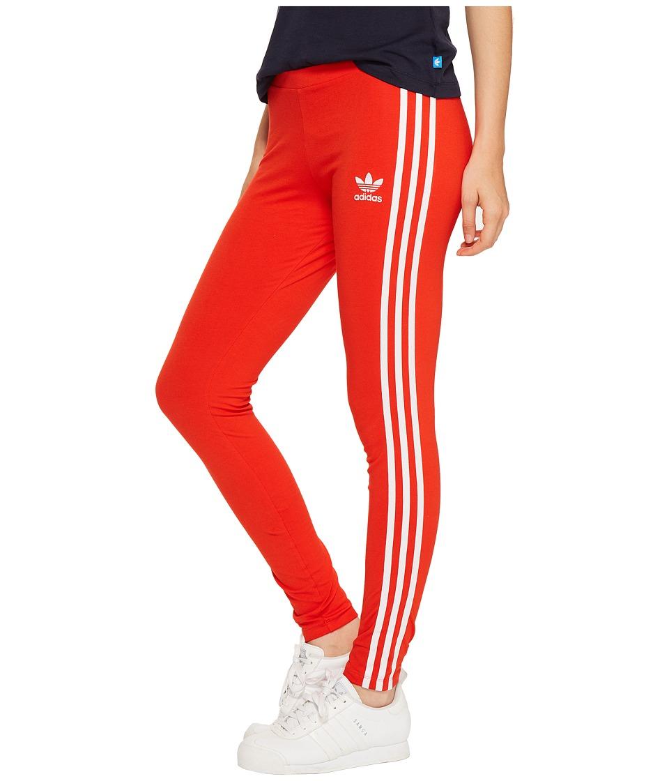 adidas Originals 3-Stripes Leggings London (Core Red) Women