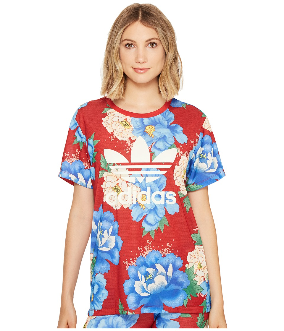 adidas Originals Chita Boyfriend Tee (Multicolor) Women