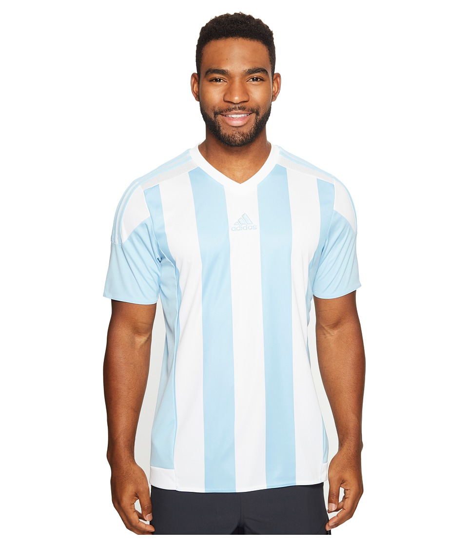 adidas Striped 15 Jersey (Clear Blue/White) Men
