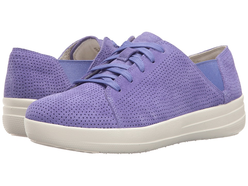 FitFlop F-Sporty Lace-Up Sneaker Perf (Lavender Blue) Women