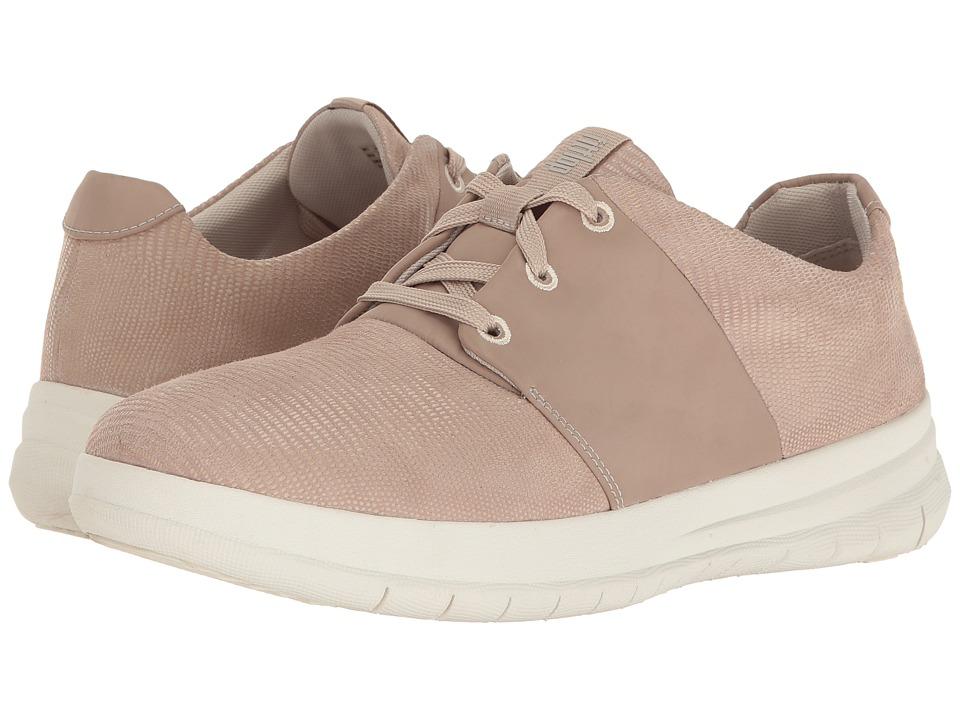 FitFlop Sporty-Pop X Lizard Print Sneaker (Nude Pink) Women