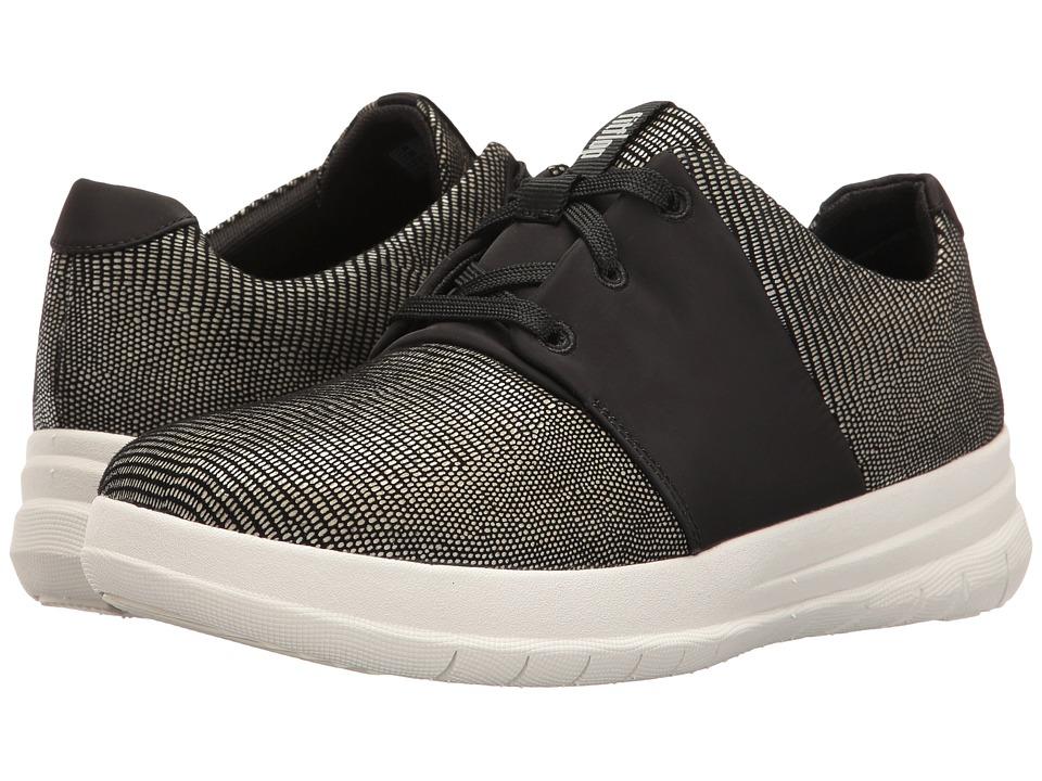 FitFlop Sporty-Pop X Lizard Print Sneaker (Black) Women