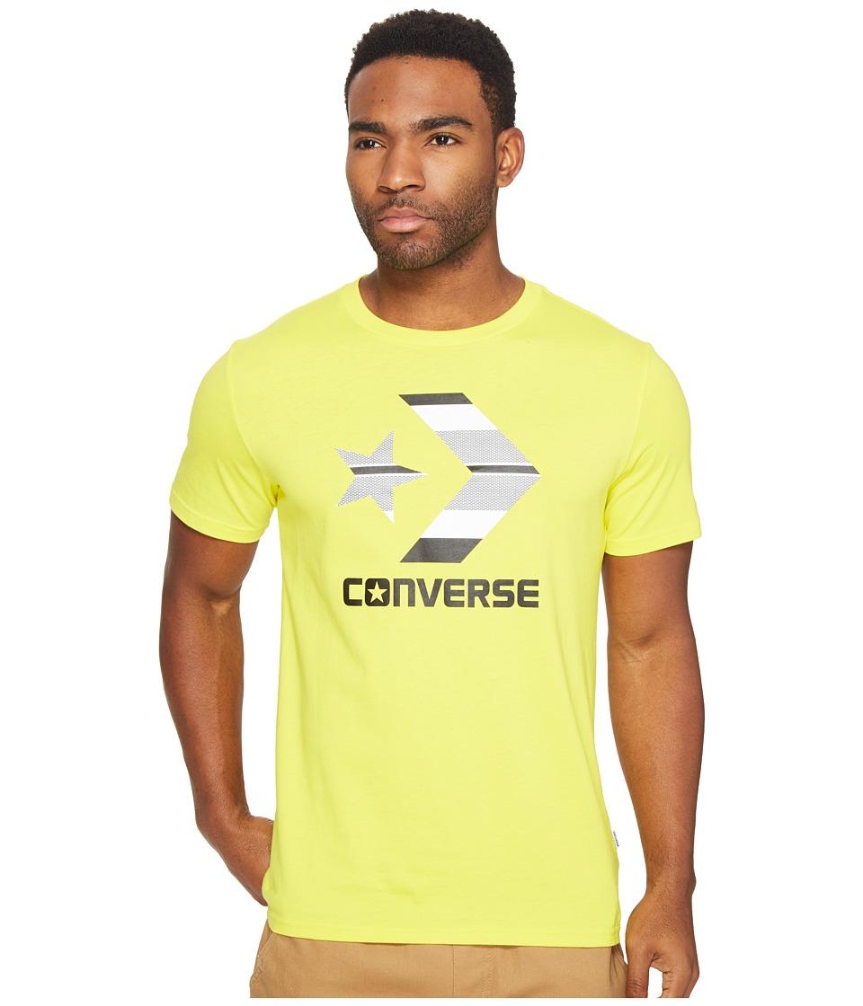 Converse Star Chevron Stripe Fill Tee (Soar Blue) Men