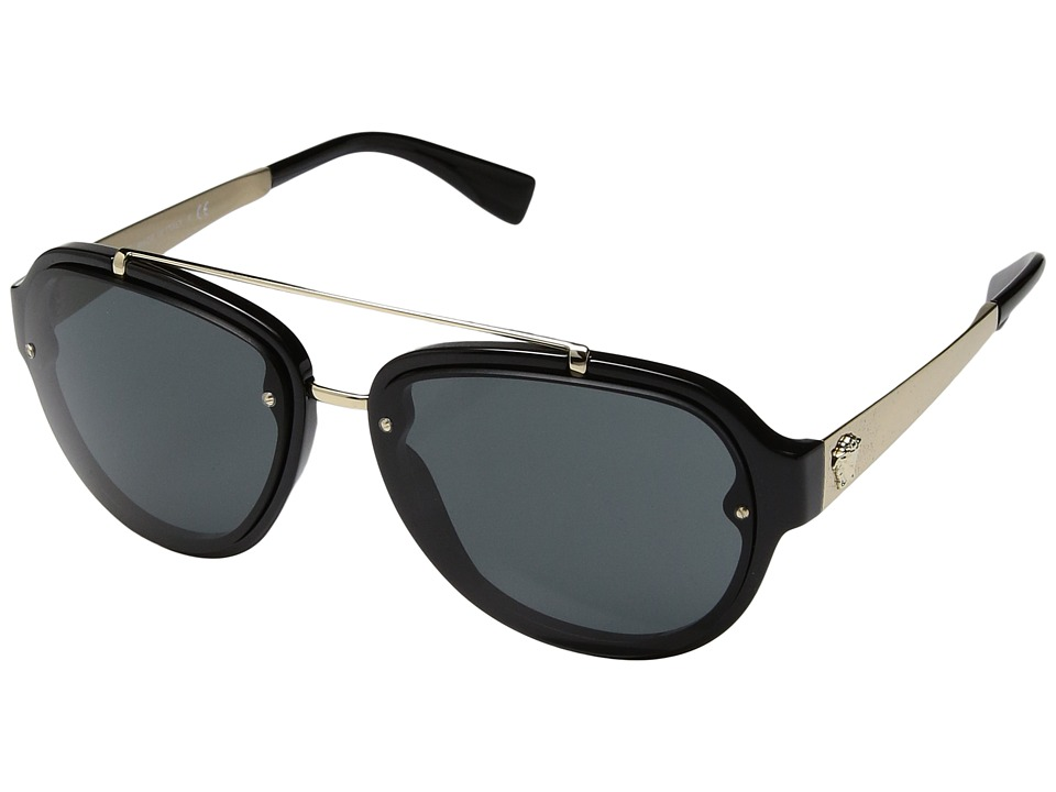 Versace - VE4327 (Black/Grey) Fashion Sunglasses