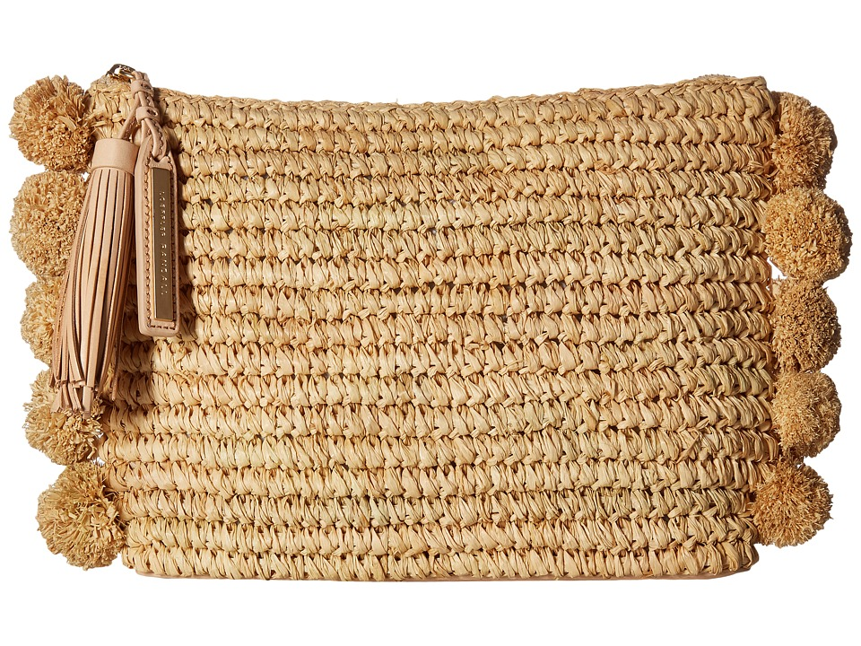 Loeffler Randall Tassel Pouch (Natural) Clutch Handbags