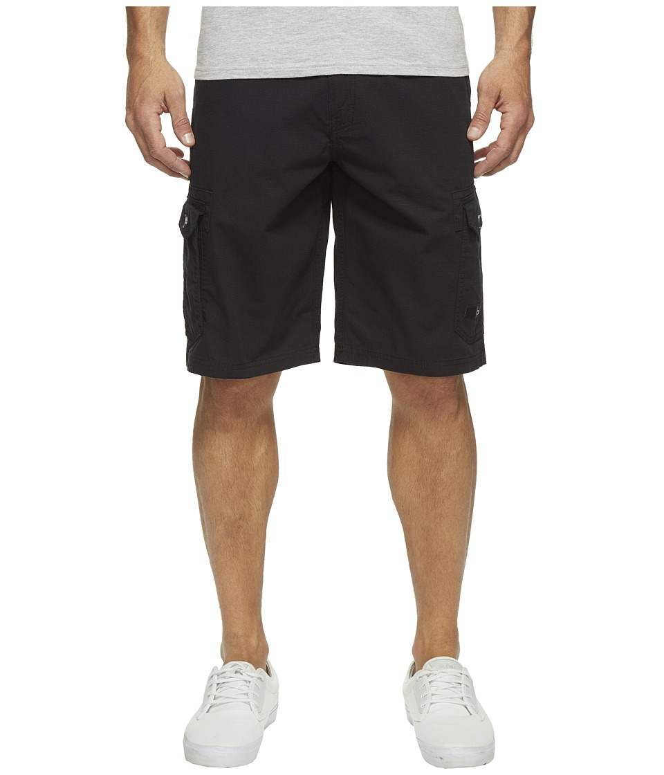 Oakley Foundation Cargo Shorts (Blackout) Men
