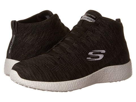 SKECHERS Burst Up and Under - Black/White