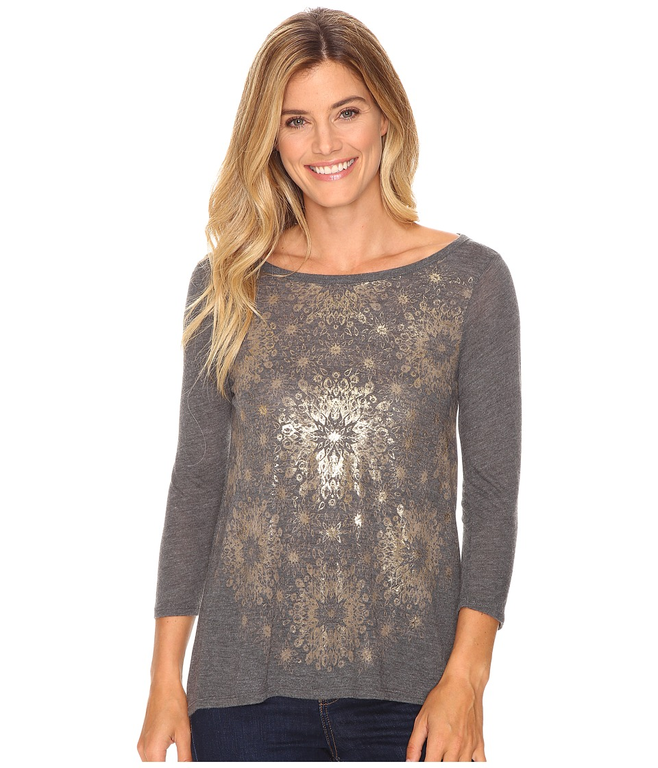 Lucky Brand Circle Tee (Gold Multi) Women