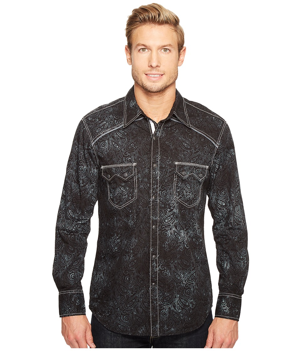 Rock and Roll Cowboy - Long Sleeve Snap B2S1260