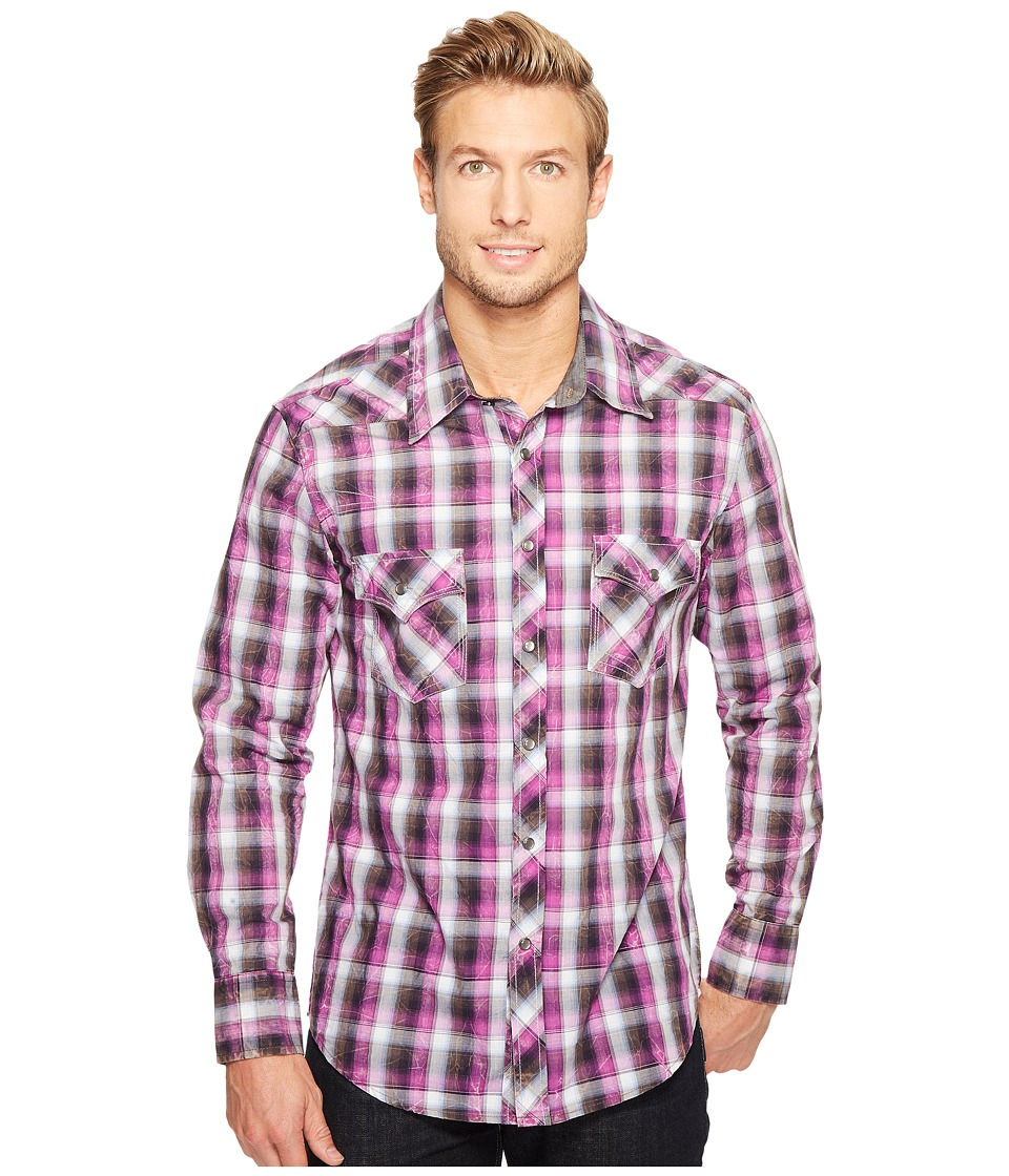 Rock and Roll Cowboy - Long Sleeve Snap B2S1252