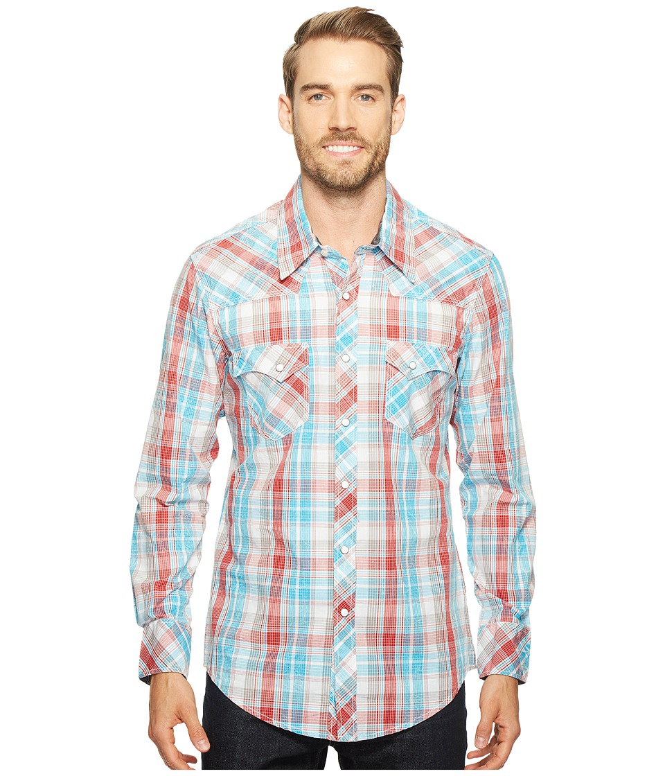Rock and Roll Cowboy - Long Sleeve Snap B2S1247