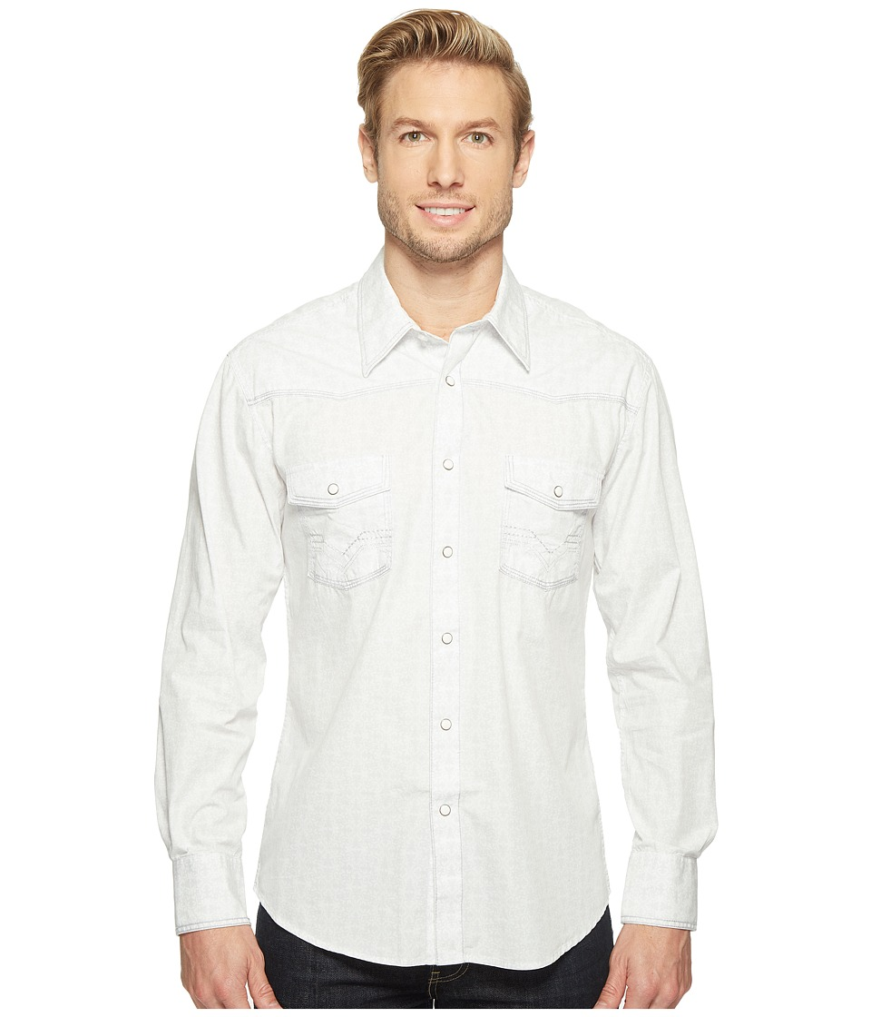 Rock and Roll Cowboy - Long Sleeve Snap B2S1258