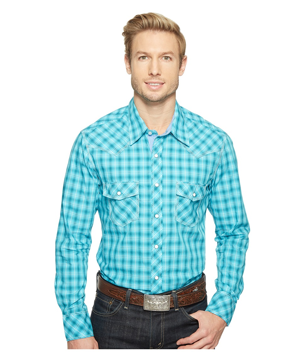 Rock and Roll Cowboy - Long Sleeve Snap B2S1249