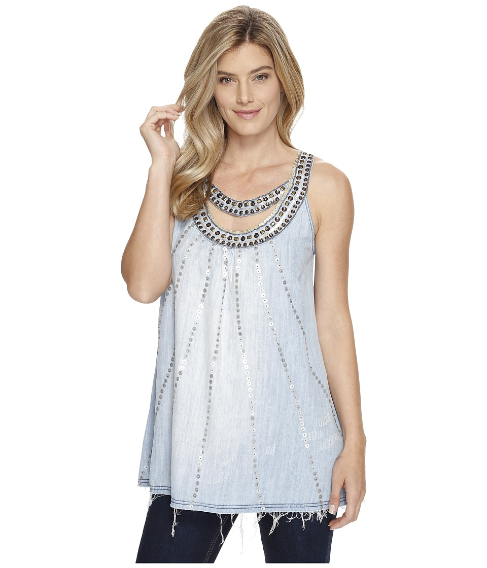Double D Ranchwear - Weeping Moon Tank Top