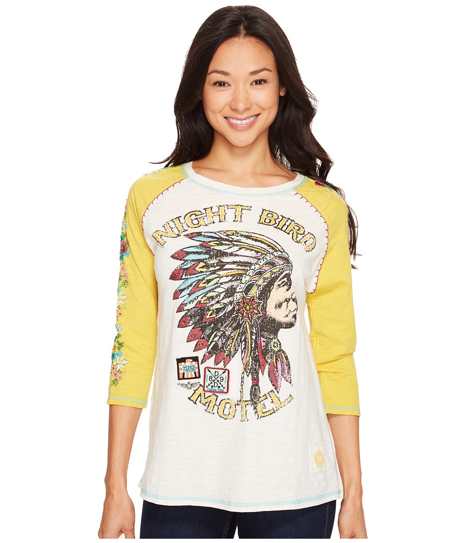 Double D Ranchwear Double D Ranchwear - Night Bird Motel Tee