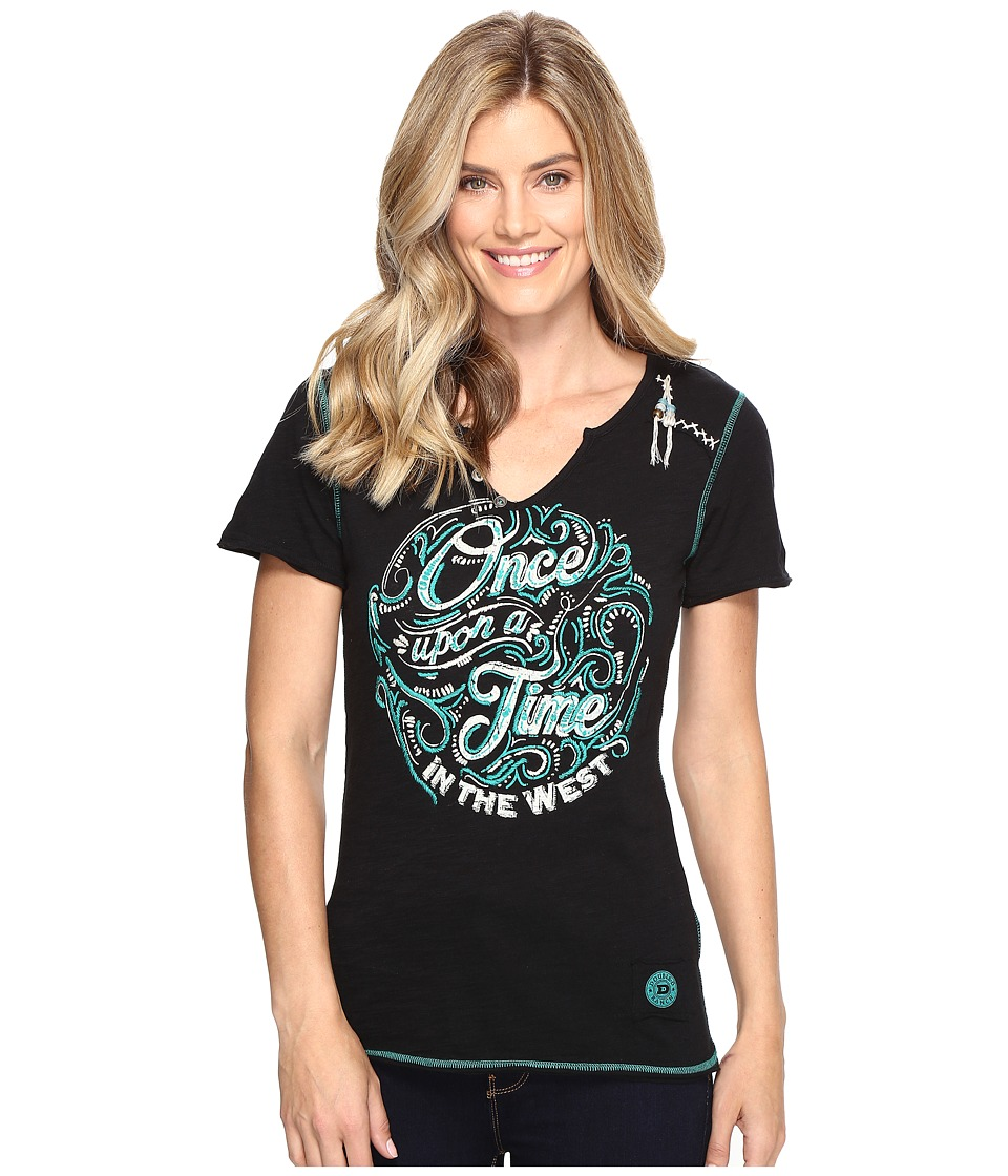 Double D Ranchwear Once Upon A Time in the West Tee (Black) Women