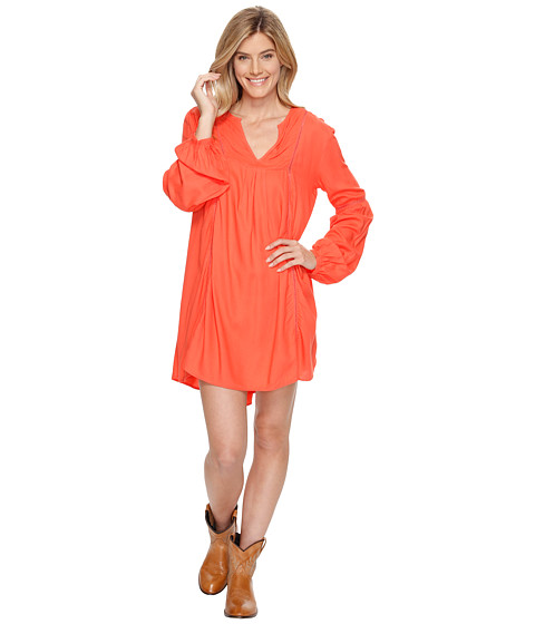 Rock and Roll Cowgirl Long Sleeve Dress D4-1222