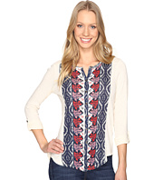 Lucky Brand - Placed Print Top