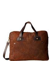 Billy Reid - Worn Leather Messenger Bag