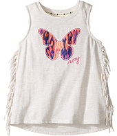 Roxy Kids - Tank Top w/ Fringes and Butterly Applique (Toddler/Little Kids)