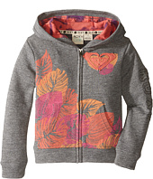 Roxy Kids - Fleece Hoodie w/ Print (Toddler/Little Kids)