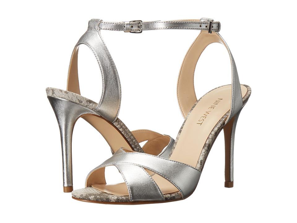 Nine West - Mooch (Silver Metallic) Womens Shoes