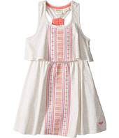 Roxy Kids - Slub Jersey Dress w/ Embroidery (Toddler/Little Kids)