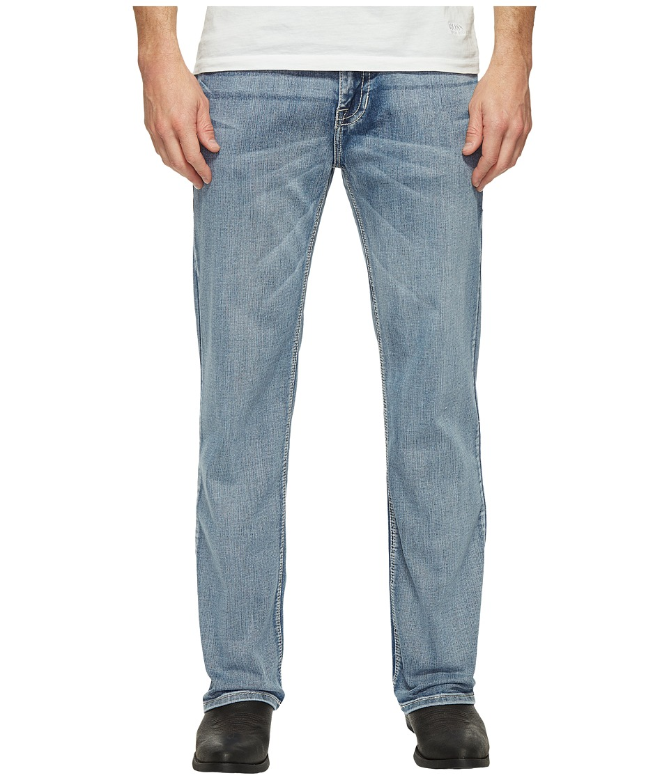 Rock and Roll Cowboy Double Barrel in Light Wash M0S1446 (Light Wash) Men