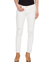 Rock and Roll Cowgirl - Low Rise Skinny in White W0C1402