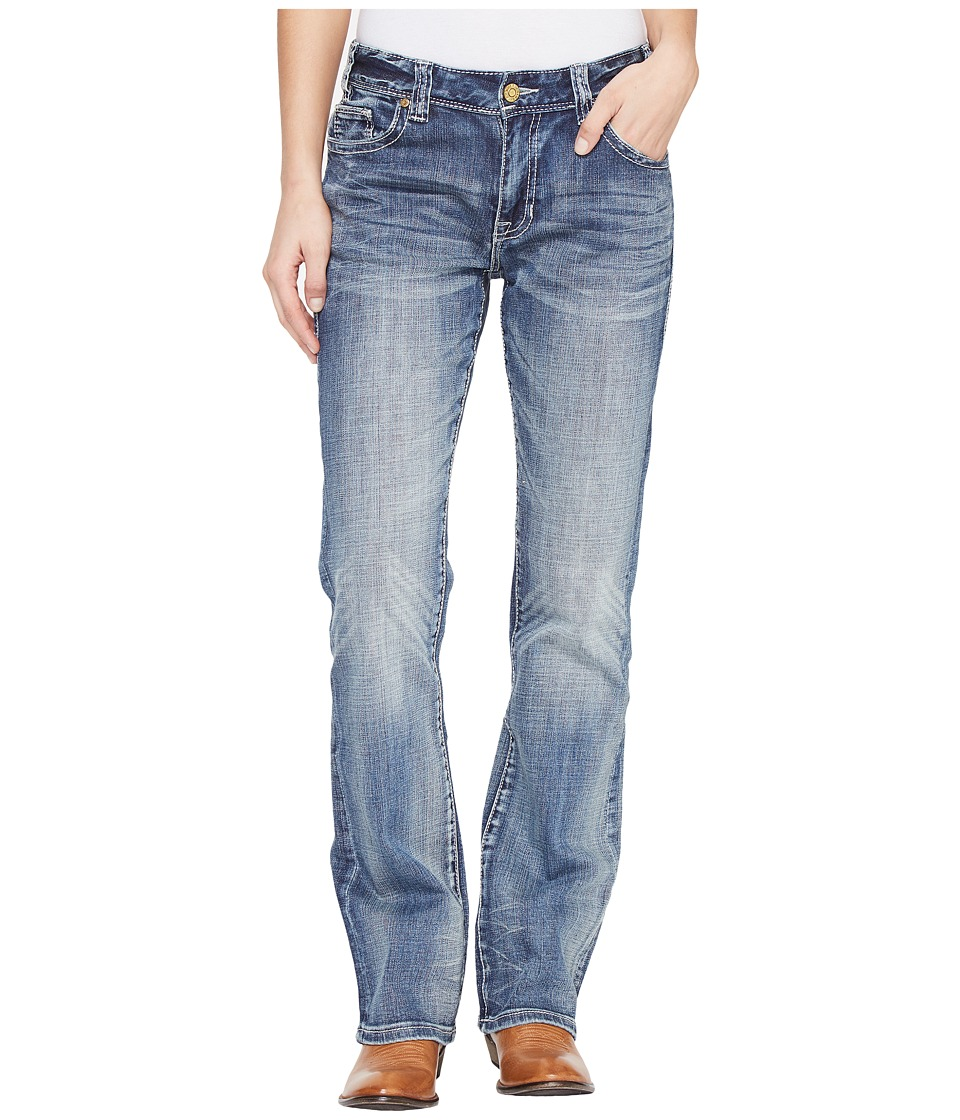 Rock and Roll Cowgirl Rock and Roll Cowgirl - Boyfriend Fit in Medium Wash W2-1397