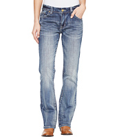 Rock and Roll Cowgirl - Boyfriend Fit in Medium Wash W2-1397